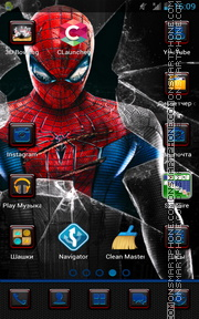 Spider Man 05 theme screenshot
