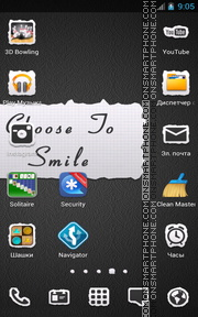 Smile Quote tema screenshot