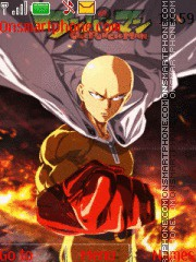 One Punch Man Saitama tema screenshot