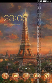 Paris theme screenshot