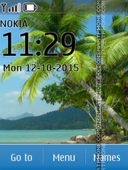 Beach 42 tema screenshot