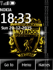 Liverpool FC 11 tema screenshot