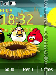 Angry Birds 2030 tema screenshot