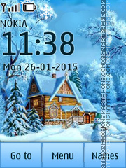 Winter house 02 Theme-Screenshot