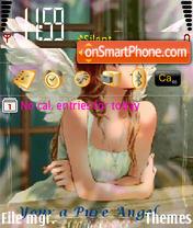 N73 Dreaming Angel theme screenshot