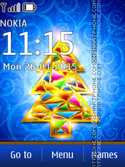 New Year Tree 02 tema screenshot