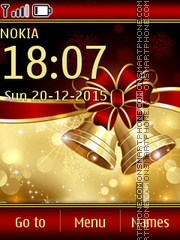 Christmas Bells tema screenshot