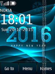 2016 Comes tema screenshot