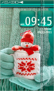 Snowman 13 tema screenshot