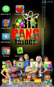 Big Bang Theory tema screenshot