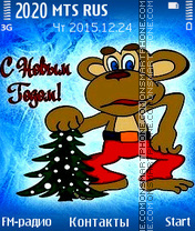 Monkey Year theme screenshot