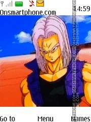 Dragon Ball Z Trunks theme screenshot