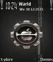 Steel Apple tema screenshot