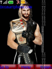 WWE Seth Rollins tema screenshot