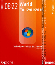 Vista Extreme tema screenshot