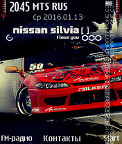 Nissan-Silvia theme screenshot