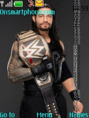 WWE Roman Reigns tema screenshot