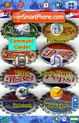Pepsi 03 es el tema de pantalla