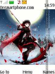Ruby Rose RWBY Theme-Screenshot
