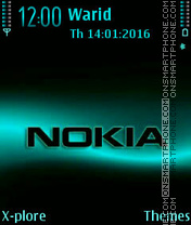 Nokia tema screenshot