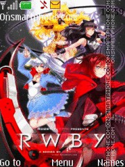 RWBY theme screenshot