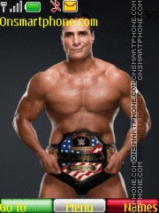 Скриншот темы WWE Alberto del Rio