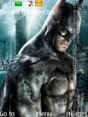Batman Arkham tema screenshot