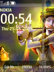 Lord Krishna 10 theme screenshot