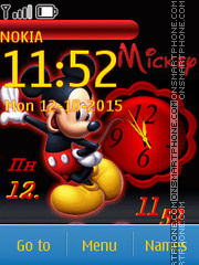 Mickey 12 tema screenshot