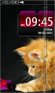 Kitten 18 theme screenshot