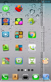 iPhone Retina tema screenshot