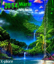 Paradise theme screenshot