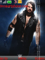 WWE AJ Styles theme screenshot