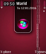 Window HD theme screenshot
