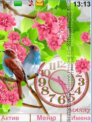 Birds tema screenshot