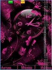 Clock tema screenshot