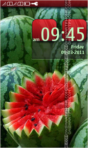 Watermelons Theme-Screenshot