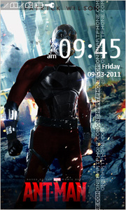 Antman tema screenshot