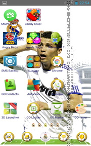 Real Madrid 2041 theme screenshot