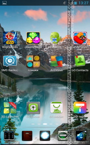 Mountain Landscape 02 theme screenshot