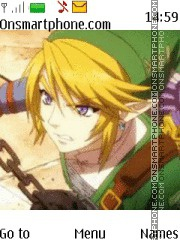 Legend of Zelda Link tema screenshot