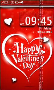 Happy Valentines Day 18 tema screenshot