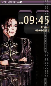 Michael Jackson 27 Theme-Screenshot