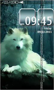 White Wolf 02 tema screenshot