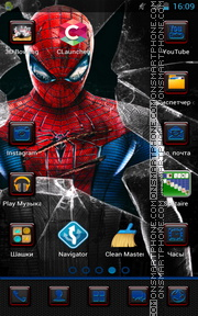 Spider Man 06 tema screenshot