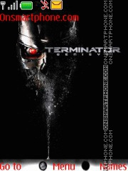 Terminator tema screenshot