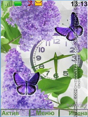 Lilac theme screenshot