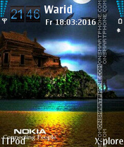 Nokia Nature theme screenshot