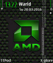 AMD theme screenshot