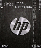 HP theme screenshot
